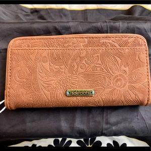 Sakroots Spirit Desert Wallet, NWT